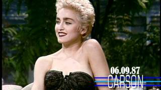 Video Madonna Flirts in Her 1st Talk Show Interview on Johnny Carson's Tonight Show 1987 MP3, 3GP, MP4, WEBM, AVI, FLV Juli 2018