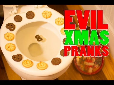 Pranks - Here are six evil (but fun) Xmas pranks that you can play on your friends, family or... in-laws. If you have some of your own, please let us know in the comments.