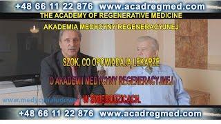 Szok, co opowiadają lekarze o Akademii Medycyny Regeneracyjnej w Świebodzicach.