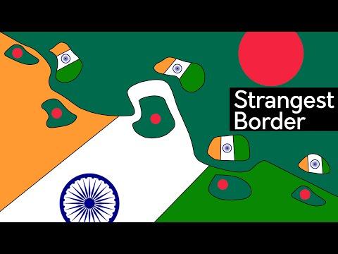 World's Strangest Border | India-Bangladesh Enclaves Explained (in 5 minutes)