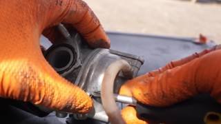 5. How to clean a carburetor on a Kymco People 50