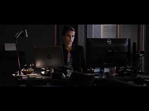 Alicia Vikander(Heather Lee) - CIA Hacked Scene - 2016 Movie Clip 1 - JB5