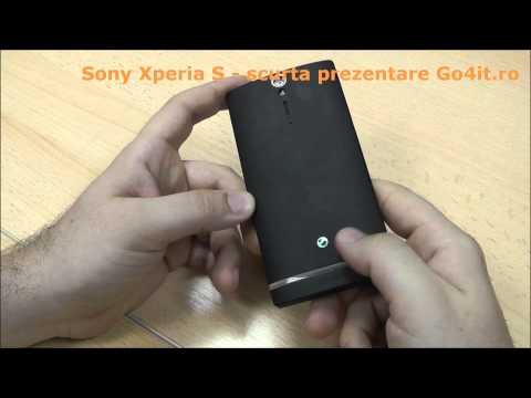 Sony Xperia S - primul contact