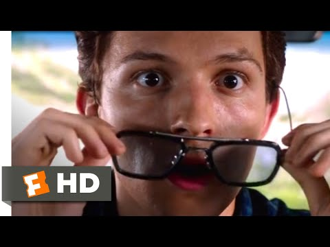 Spider-Man: Far From Home (2019) - Peter's Drone Strike Scene (2/10) | Movieclips