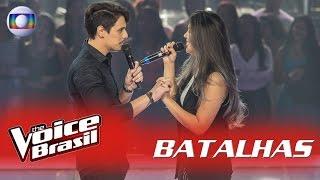 Anna e Dan cantam 'Quando a Chuva Passar' nas Batalhas - 'The Voice Brasil' | 5ª Temporada