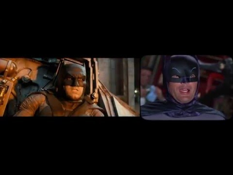 Batman v Superman Side by Side Shot by Shot Remake!