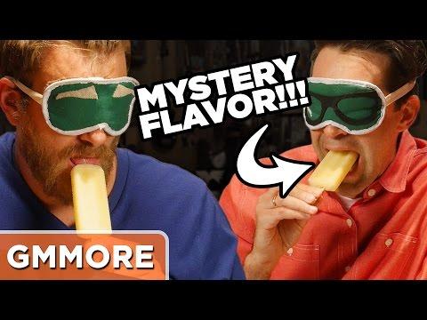 Mystery Popsicle Taste Test