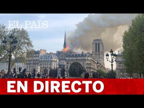Videos de uñas - DIRECTO PARÍS  La Catedral NOTRE DAME sufre UN INCENDIO