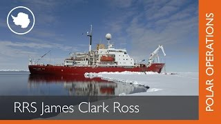 RRS James Clark Ross (JCR), launched by HM the Queen in 1990, is primarily a marine research vessel for biological, ...