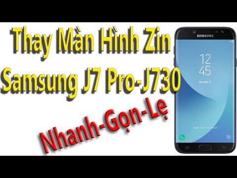 Thay man Hinh Samsung J7 Pro J730