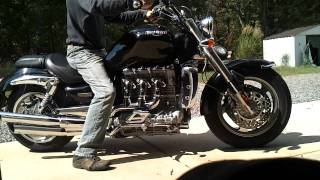5. 2005 Triumph Rocket III startup and rev