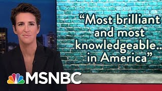 Rachel Maddow reviews the latest developments in the Trump-Russia investigations, including indications that the Senate Judiciary Committee will issue ...