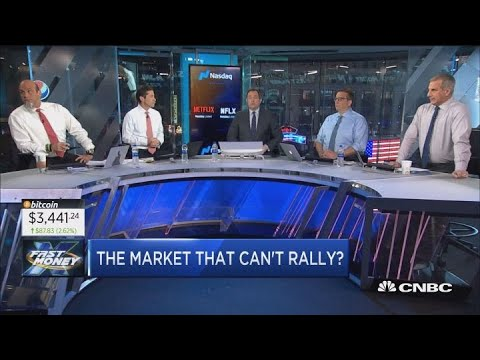 The Dow wiped out a nearly 450-point jump, is this the market that just can't rally anymore?