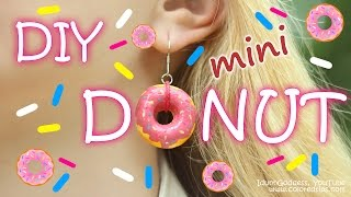 I love this way to make jewelry! And you will NOT need a polymer clay! In this video tutorial you will find out how to make donuts and other tiny food jewelr...