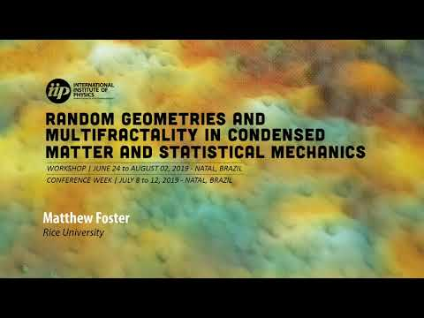 Multifractality across the energy spectrum with (...) - Matthew Foster