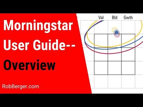 Morningstar User Guide--Overview [Video #1]