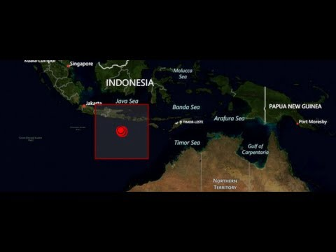 EARTHQUAKE Swarm! INDONESIA: Huge 6.4 - 5.7 -  6.4 - 5.6 In 13 Days. Sept. 3, 2012. TROUBLING!