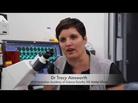 2018 Dorothy Hill Medal – Assoc. Prof Tracy Ainsworth