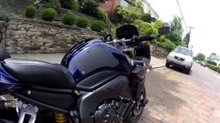 3. Akumu's Former Cobalt Blue 2007 Yamaha FZ1 (w/ Yoshimura R77 Exhaust System)
