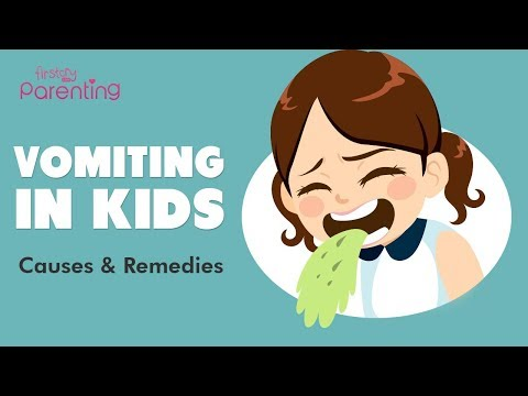 Vomiting in Kids -  Types, Causes  and Treatment
