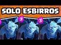 JUGANDO SOLO CON ESBIRROS | CLASH ROYALE