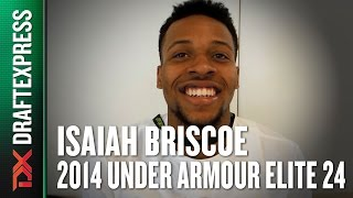 2014 Isaiah Briscoe Interview - DraftExpress - Under Armour Elite 24