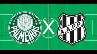 Palmeiras x Ponte Preta AO VIVO 22/04/17