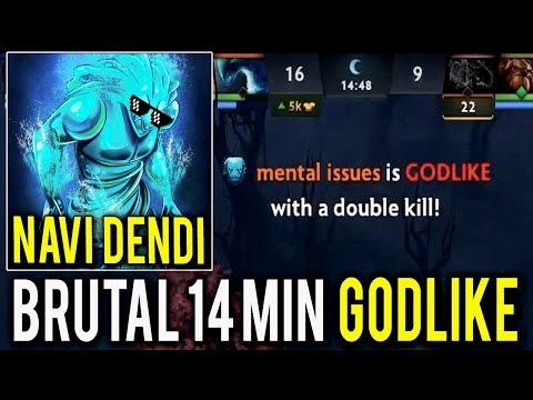 NaVi Dendi Brutal Morphling 14 Min GodLike WTF !! Can't Believe in my Eyes 7k MMR Legend Dota 2