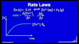 Rate Laws