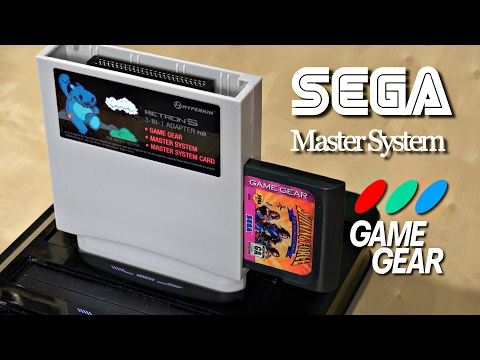 Play Sega GAME GEAR & MASTER SYSTEMS Games in HD! RetroN 5 Adapter Review
