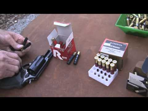 judge - Hickok45 plays and experiments with the popular Taurus Judge revolver. It's a lengthy shooting session with a variety of ammunition types and target distance...