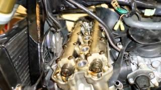 10. Kleppen stellen honda hornet 600 2006 deel 0 valve clearance adjustment