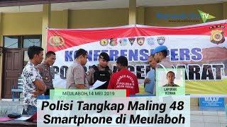 Polisi Tangkap Maling 48 Smartphone di Meulaboh, Tersangka Juga Bawa Kabur Uang Rp 100 Juta