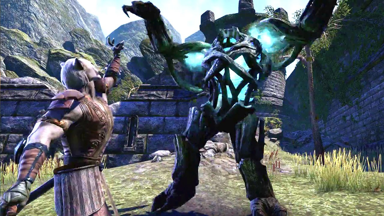 THE ELDER SCROLLS ONLINE : Tamriel Unlimited – Freedom and Choice Trailer #VideoJuegos #Consolas