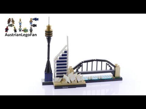 Vidéo LEGO Architecture 21032 : Sydney