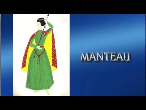 LES FIGURINES D'YVETTE - Costume du XIIème siècle.