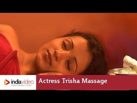 Actress Trisha Unseen Massage Video Makes Viral In Social Media