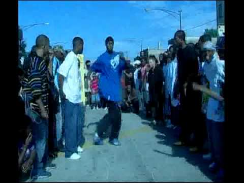 CHICAGO FOOTWORKING CLASSIC! ( WALA CAM ) JUKE  DJ ROME