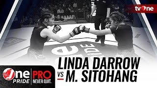 Video [Full HD] Linda Darrow vs Melpida Sitohang - One Pride MMA - Woman Strawweight Championship MP3, 3GP, MP4, WEBM, AVI, FLV Mei 2018