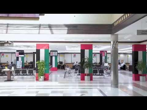 الموظفة أماني النعيمي إداري خدمات رئيسي في مركز عجمان لسعادة المتعاملين