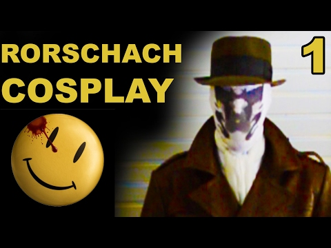 Rorschach Cosplay Project!   Part 1
