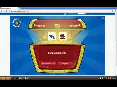 Codigos reutilizables de club penguin