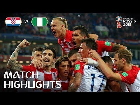 Croatia v Nigeria - 2018 FIFA World Cup Russia™ - Match 8 (видео)