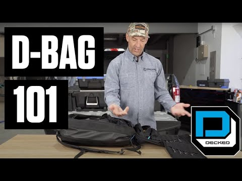 DECKED 101 | The D-Bag for Use In and Out of the DECKED System