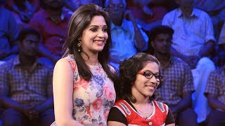 Subscribe to Mazhavil Manorama now for your daily entertainment dose:http://www.youtube.com/subscription_center?add_user=MazhavilManoramaMinute to Win it: Life is a series of challenges; if you face it positively, then you will win it! Meet Steffy who battled cancer and won the race of life. She is here to beat the minute.Follow us on Facebook: https://www.facebook.com/mazhavilmanorama.tvFollow us on Twitter: https: //twitter.com/yourmazhavilFollow us on Google Plus: https://plus.google.com/+MazhavilManoramaTVTo go to the show playlist: http://bit.ly/2teCbInAbout the show:The world's most admired television game show 'Minute to Win it' has come to Kerala. The show that thrilled audience in over 50 countries is brought to your television screens by your favourite channel Mazhavil Manorama. The show has been licensed from International Production House Endemol Shine. The contestants of the show take part in a series of 60-second challenges that use objects that are commonly available around the house. The contestants will have to complete 10 levels to reach the top of the money tree with three lives to win the maximum prize money of Rs 10 lakh.The Malayalam version of 'Minute to Win It is hosted by actress - model Nyla Usha. Malabar Gold and Diamonds is the title sponsor of 'Minute to Win it' and co-sponsored by  Kitchen Treasures and Medimix. 'Minute to Win it' features many exciting moments to entertain the contestants as well as the viewers.The show airs on Mazhavil Manorama Saturdays and Sundays at 9 pm.About the Channel:Mazhavil Manorama, Kerala's most popular entertainment channel, is a unit of MM TV Ltd — a Malayala  Manorama television venture. Malayala Manorama is one of the oldest and most illustrious media houses in India. Mazhavil Manorama adds colour to the group's diverse interest in media.Right from its inception on 31st October 2011, Mazhavil Manorama has redefined television viewing and entertainment in the regional space of Malayalam.  Headquartered in Kochi, the channel has offices across the country and overseas. Innovative content mix and cutting edge technology differentiates it from other players in the market. Mazhavil Manorama has a successful blend of fiction and nonfiction elements that has helped it to secure a substantial amount of viewership loyalty. Path breaking reality shows, exclusive weekend mix, fetching soaps makes Mazhavil Manorama extremely popular across all genres of audience.MM TV has a bouquet of 4 channels – Manorama News, Mazhavil Manorama, Mazhavil Manorama HD and Mazhavil International for the Gulf Region. MM TV. Mazhavil Manorama HD is the first television channel in Kerala to transmit its programmes completely in HD.
