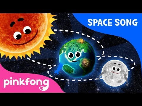 Video songs - Round and round  Space Song  Pinkfong Songs for Children