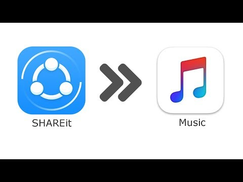 How to Transfer Music from SHAREit App to iPhone Music Library