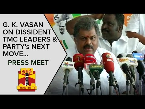 G-K-Vasan-on-Dissident-TMC-Leaders-and-Partys-Next-Move-Press-Meet--Thanthi-TV