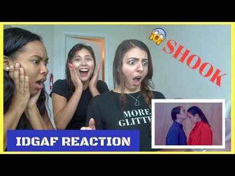 Dua Lipa - IDGAF (Official Music Video) [REACTION] (видео)