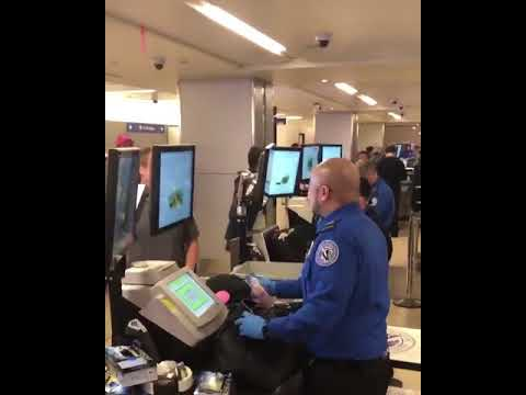 TSA Agent Makes Hilarious NSFW Discovery While Checking Bags